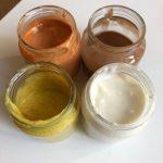 pintura casera comestible