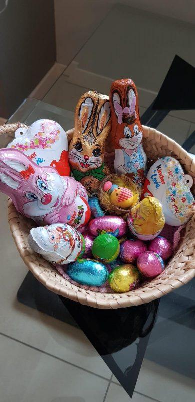 busqueda de los huevos de pascua