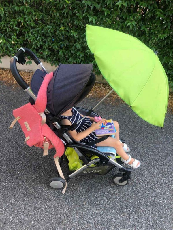 parasol cochecito