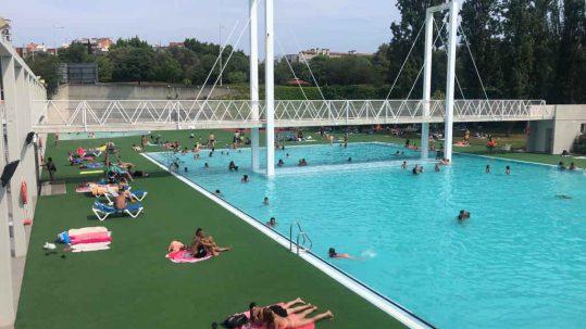 piscina para niños pequeños barcelona