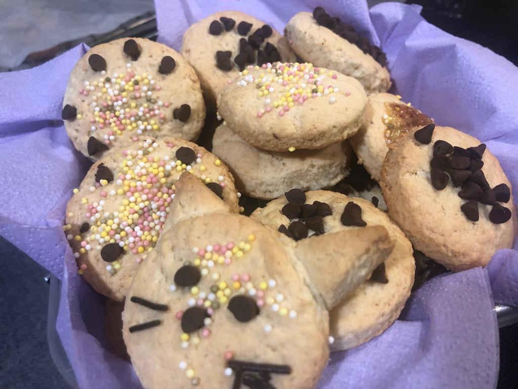 galletas rapidas para niños