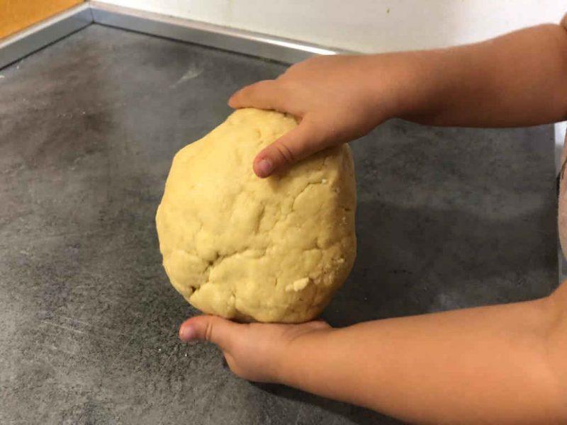 receta galletas facil niños